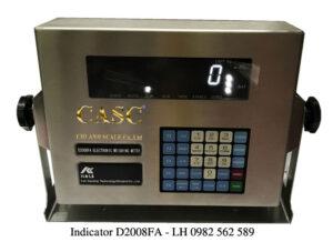 Đầu cân kỹ thuật số cân ô tô điện tử Model D2008FA