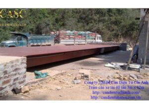 Trạm cân xe tải 40 tấn