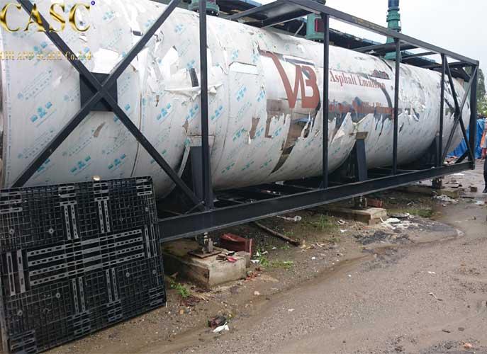 Lắp đặt cân bồn hóa chất điện tử 50 tấn