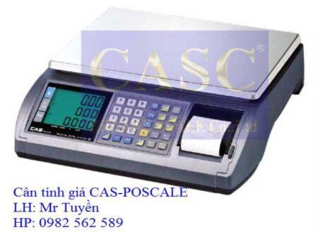 Cân điện tử POSCALE - CAS hà nội