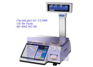 Cân tính giá CL3000 – CAS