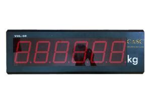 Hiển thị số cho cân ô tô điện tử YHL-5