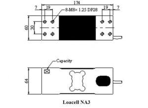 Kích thước Loadcell NA3