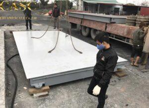 Cân điện tử 80 tấn 3m x 12m