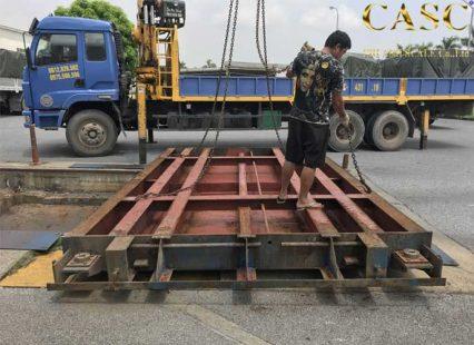 sửa chữa cân ô tô 80 tấn