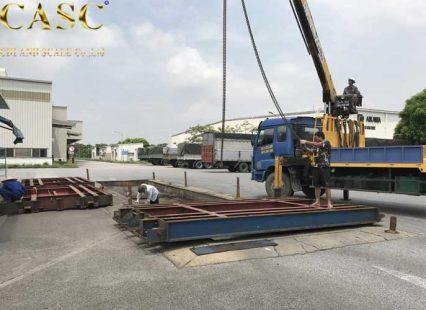 sửa chữa bảo dưỡng cân xe tải 80 tấn