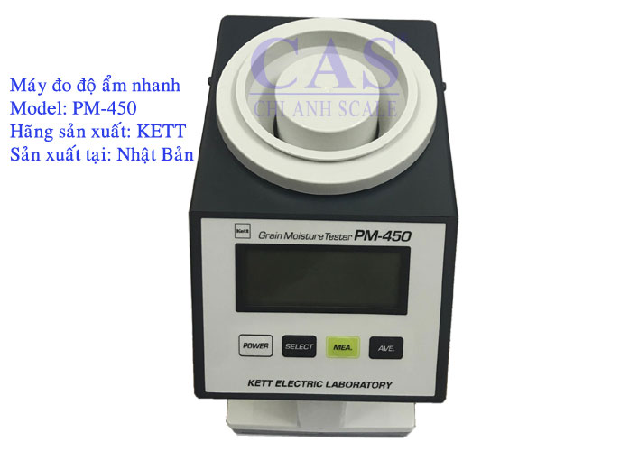 Máy đo độ ẩm các loại hạt PM-450